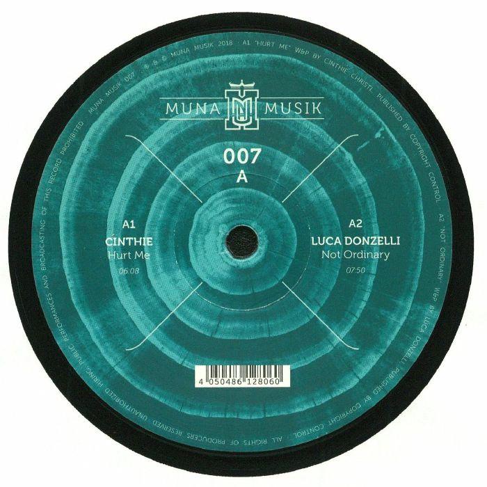 CINTHIE/LUCA DONZELLI/HECTOR COUTO/CHRISTIAN BURKHARDT - Muna Musik 007