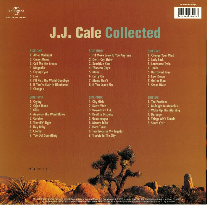 CALE, JJ - Collected (reissue)