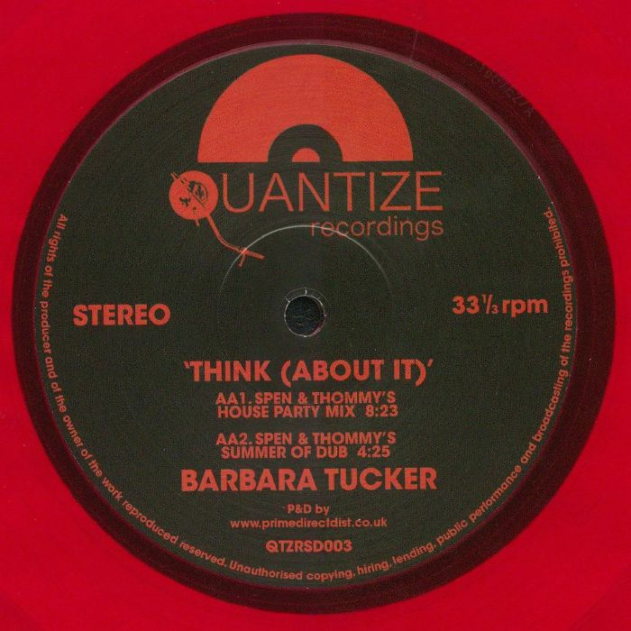 TUCKER, Barbara - Think (About It) (Record Store Day 2018)