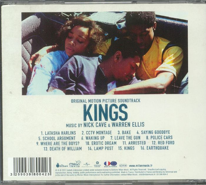 CAVE, Nick/WARREN ELLIS - Kings (Soundtrack)