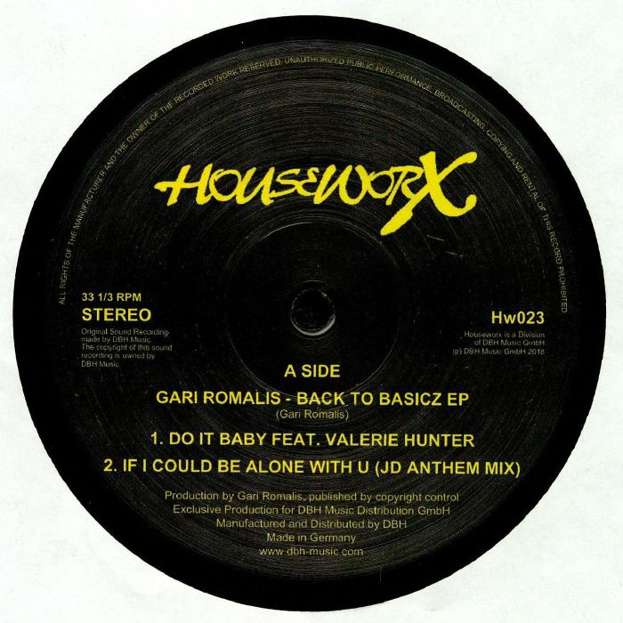 ROMALIS, Gari - Back 2 Basicz EP