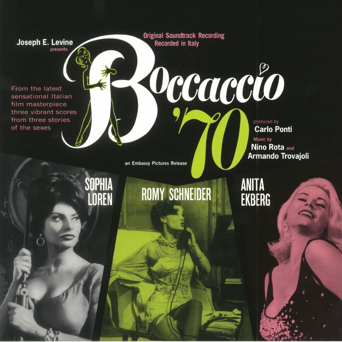 ROTA, Nino/ARMANDO TROVAJOLI - Boccaccio '70