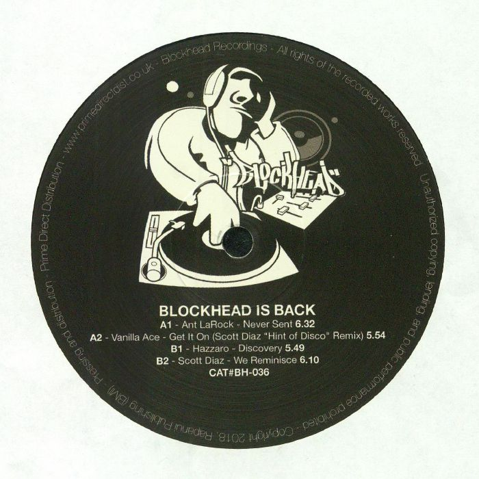 ANT LAROCK/VANILLA ACE/HAZZARO/SCOTT DIAZ - Blockhead Is Back