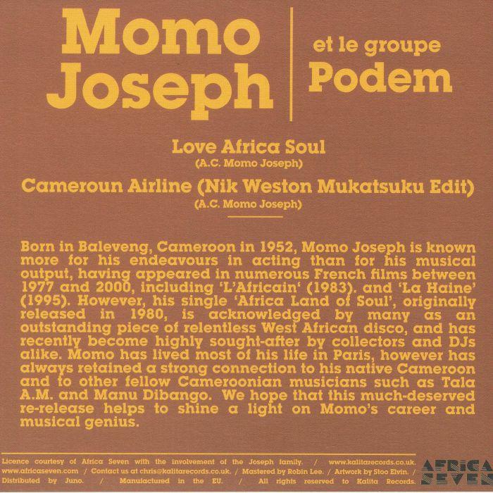 JOSEPH, Momo/LE GROUPE PODEM - Love Africa Soul