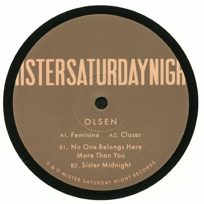 OLSEN - No One Belongs Here More Than You EP