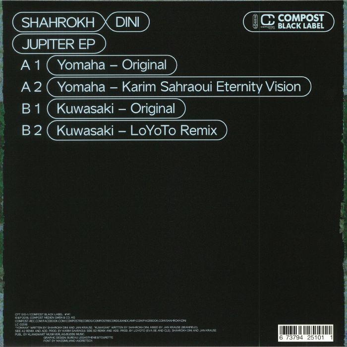 DINI, Shahrokh - Jupiter EP