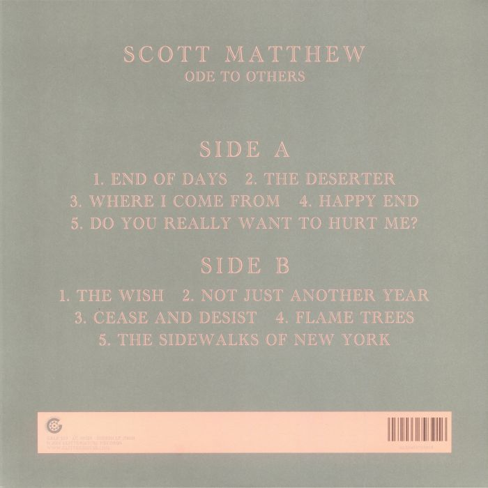 MATTHEW, Scott - Ode To Others