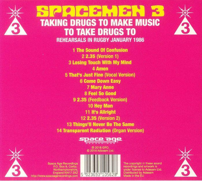 SPACEMEN 3 - Taking Drugs To Make Music To Take Drugs To (remastered)
