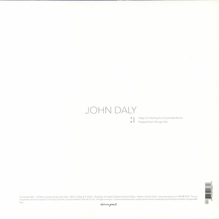 DALY, John - I Keep On Wanting You