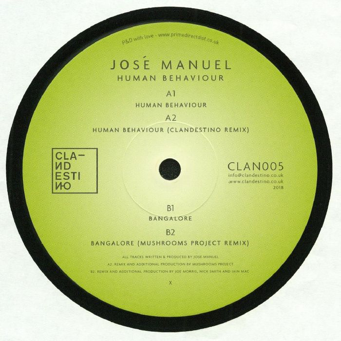 MANUEL, Jose - Human Behaviour