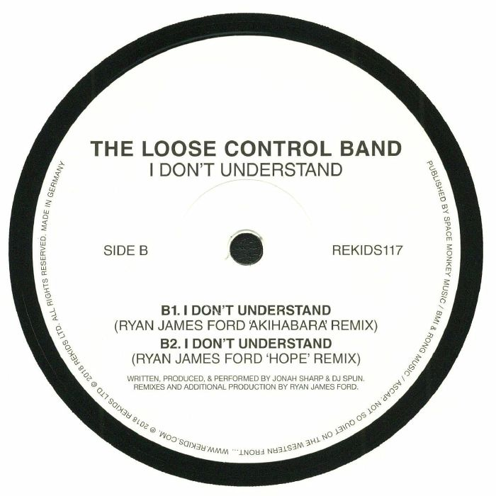 LOOSE CONTROL BAND, The - I Don't Understand