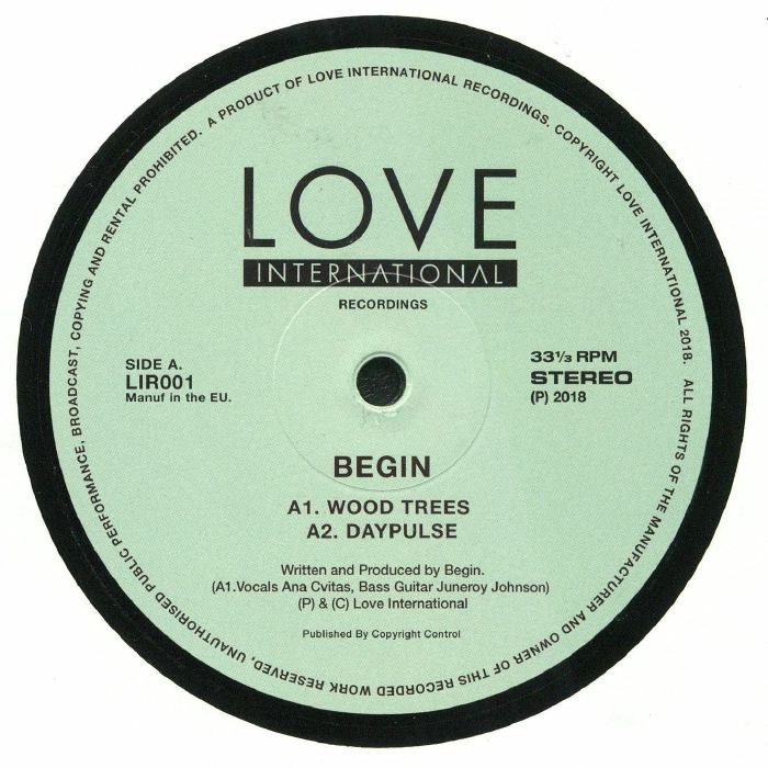 BEGIN - Love International Recordings 001