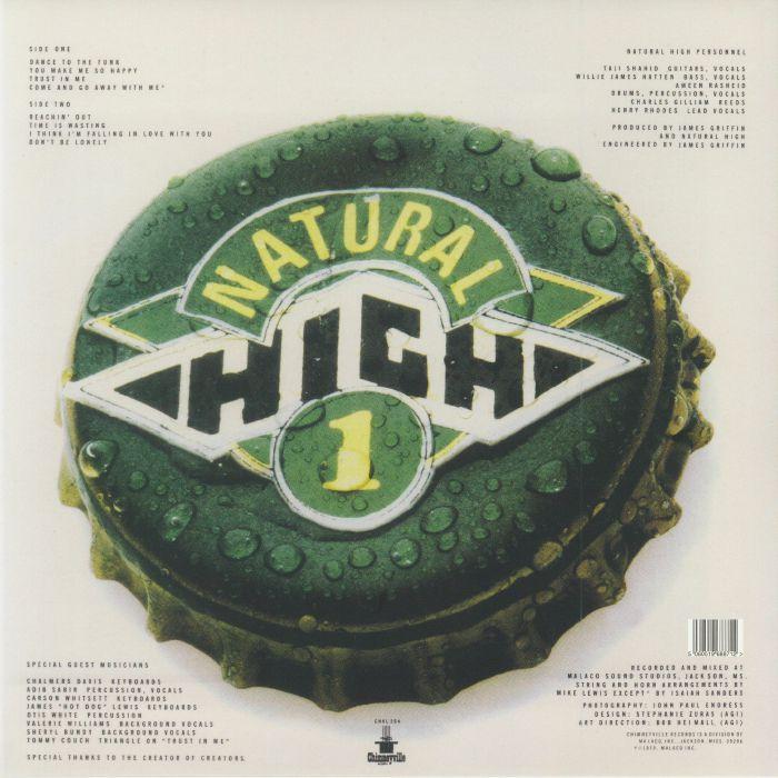 NATURAL HIGH - Natural High 1 (reissue)