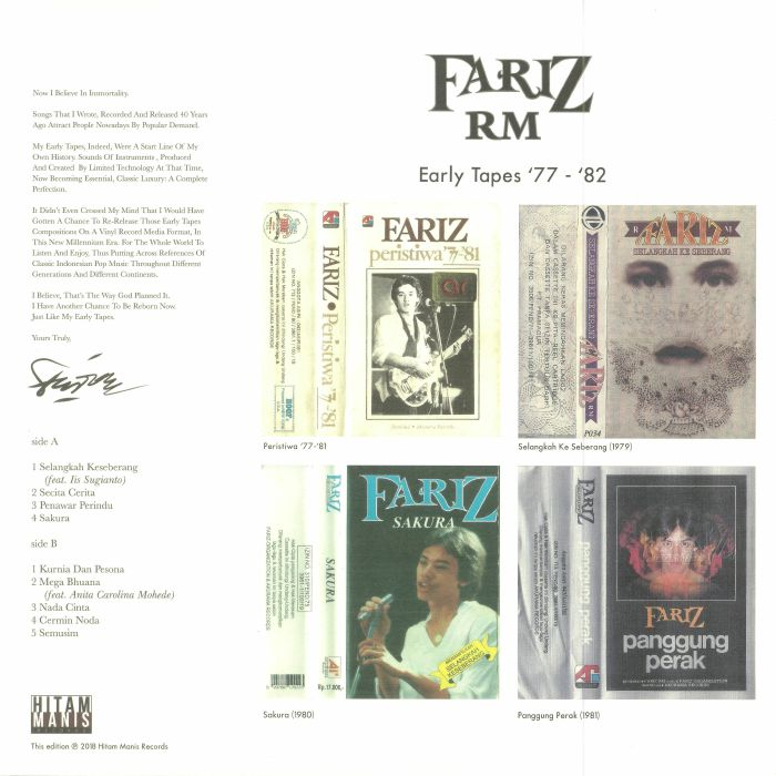 RM, Fariz - Early Tapes 1977-1982