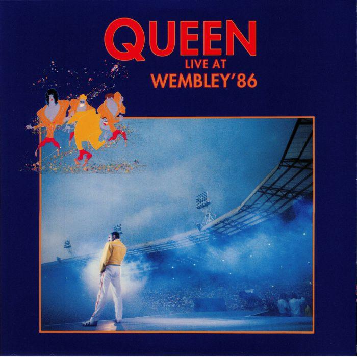Queen Live At Wembley 86 Vinyl At Juno Records