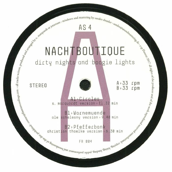 NACHTBOUTIQUE - Dirty Night's & Boogie Light's: Album Sampler 4