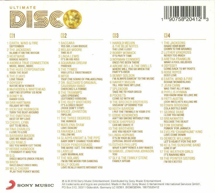 VARIOUS - Ultimate Disco