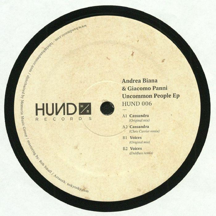 BIANA, Andrea/GIACOMO PANNI - Uncommon People EP