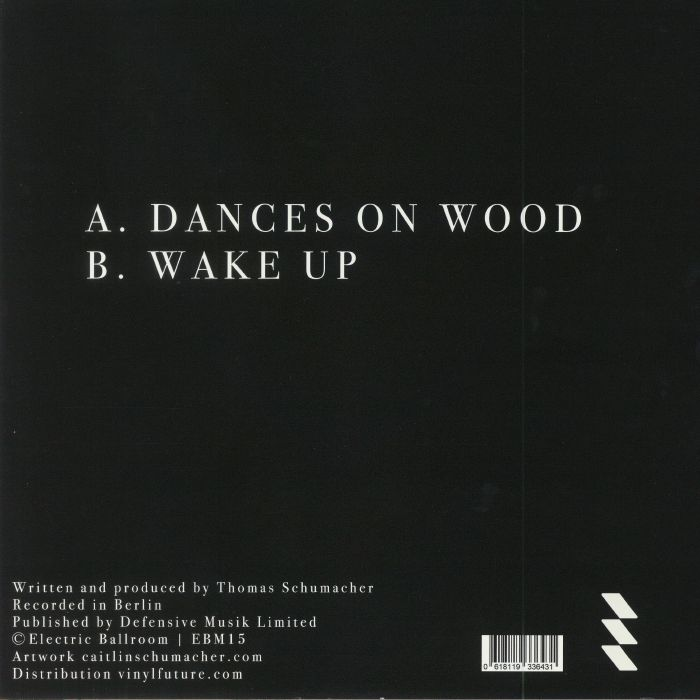 SCHUMACHER, Thomas - Dances On Wood