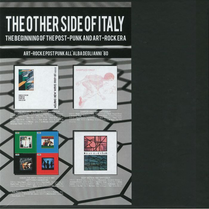 VARIOUS - The Other Side Of Italy: The Beginning Of The Post Punk & Art Rock Era (Record Store Day 2018)