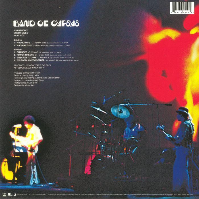 HENDRIX, Jimi - Band Of Gypsys (remastered)