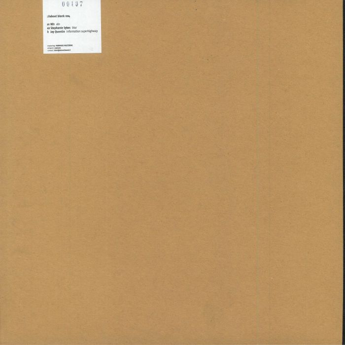 NX1/STEPHANIE SYKES/JAY QUENTIN - About Blank 004
