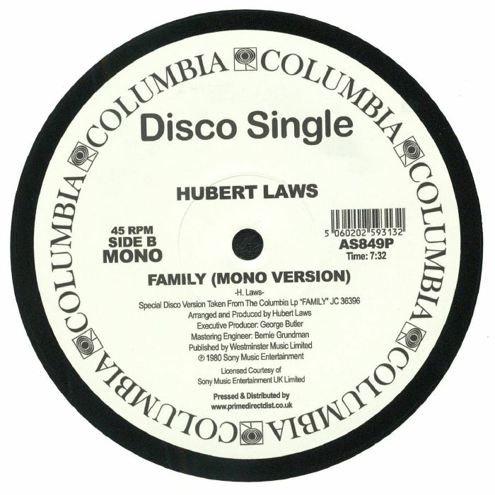 LAWS, Hubert - Family (reissue)