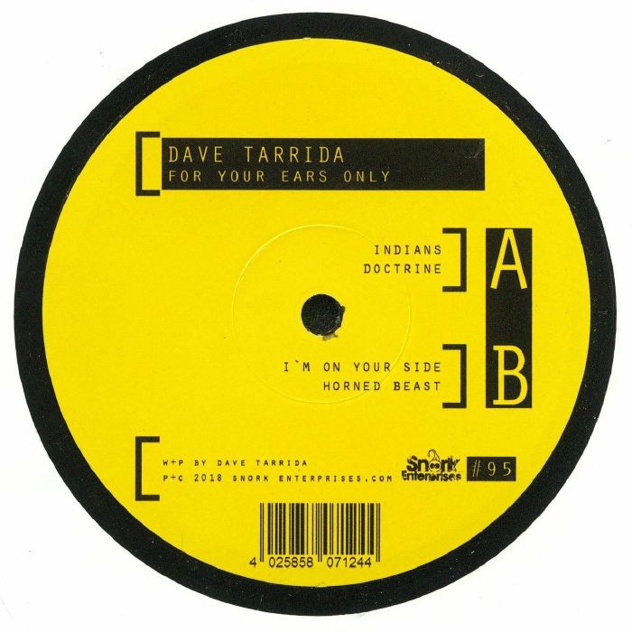 TARRIDA, Dave - For Your Ears Only