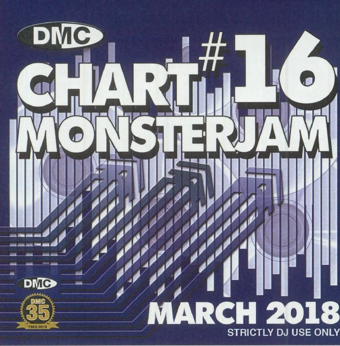 VARIOUS - DMC Chart Monsterjam #16 March 2018 (Strictly DJ Only)