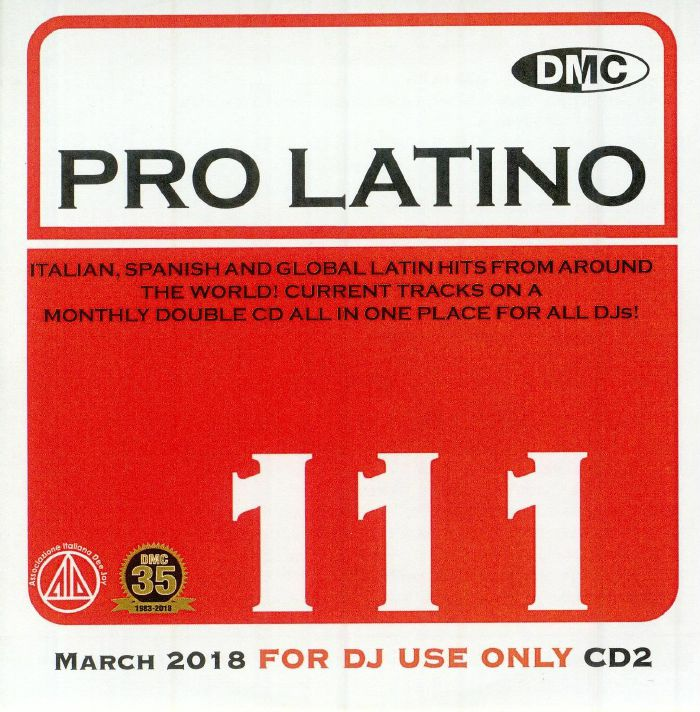 VARIOUS - DMC Pro Latino 111: March 2018 (Strictly DJ Only)