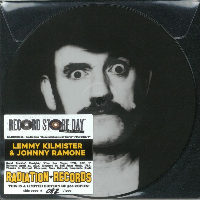 KILMISTER, Lemmy/JOHNNY RAMONE - Good Rockin' Tonight (Record Store Day 2018)