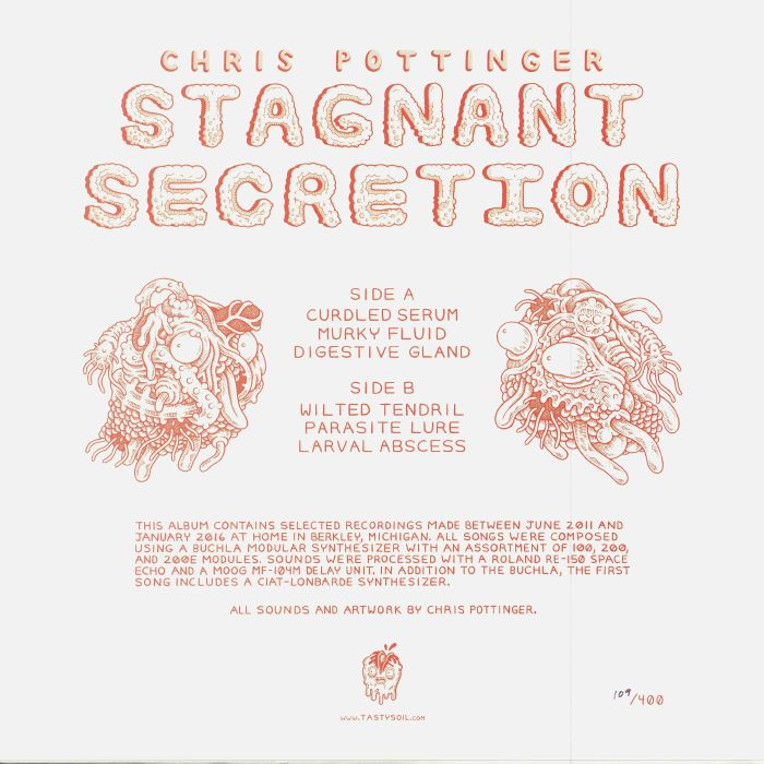 POTTINGER, Chris - Stagnant Secretion