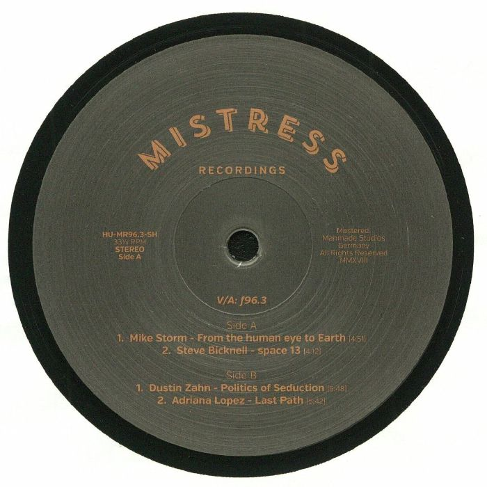 STORM, Mike/STEVE BICKNELL/DUSTIN ZAHN/ADRIANA LOPEZ - Mistress Special Release EP 3