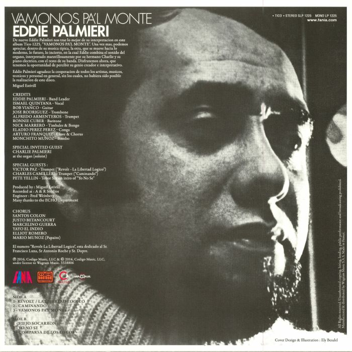 PALMIERI, Eddie - Vamonos Pa'l Monte (reissue)