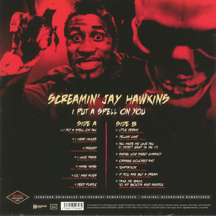 SCREAMIN' JAY HAWKINS - I Put A Spell On You (reissue)