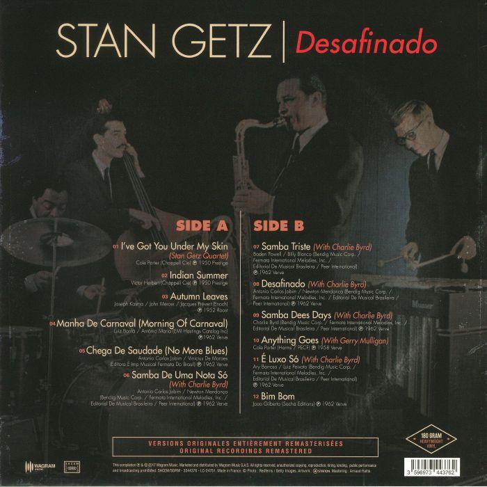 GETZ, Stan - Desafinado (reissue)