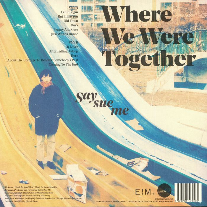 SAY SUE ME - Where We Were Together