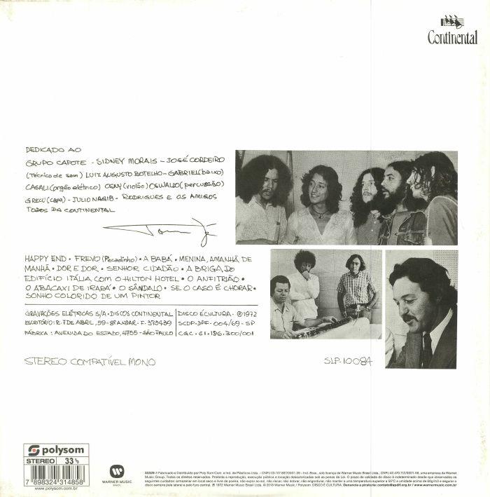 ZE, Tom - So O Caso E Chorar (remastered)