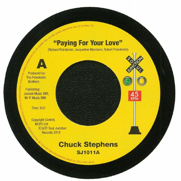 STEPHENS, Chuck - Paying For Your Love