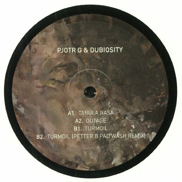 PJOTR G/DUBIOSITY - Tabula Rasa