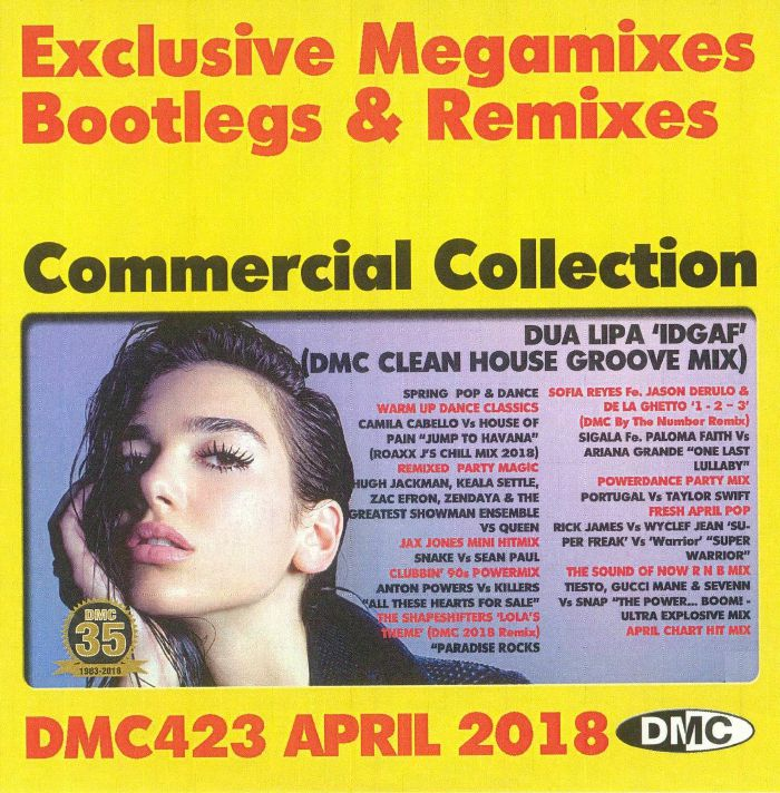 VARIOUS - DMC Commercial Collection April 2018: Exclusive Megamixes Bootlegs & Remixes (Strictly DJ Only)