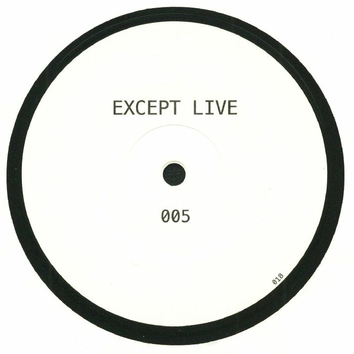 EXCEPT LIVE - 005