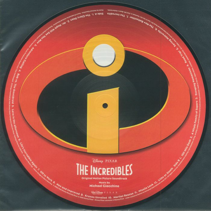 GIACCHINO, Michael - The Incredibles (Soundtrack)