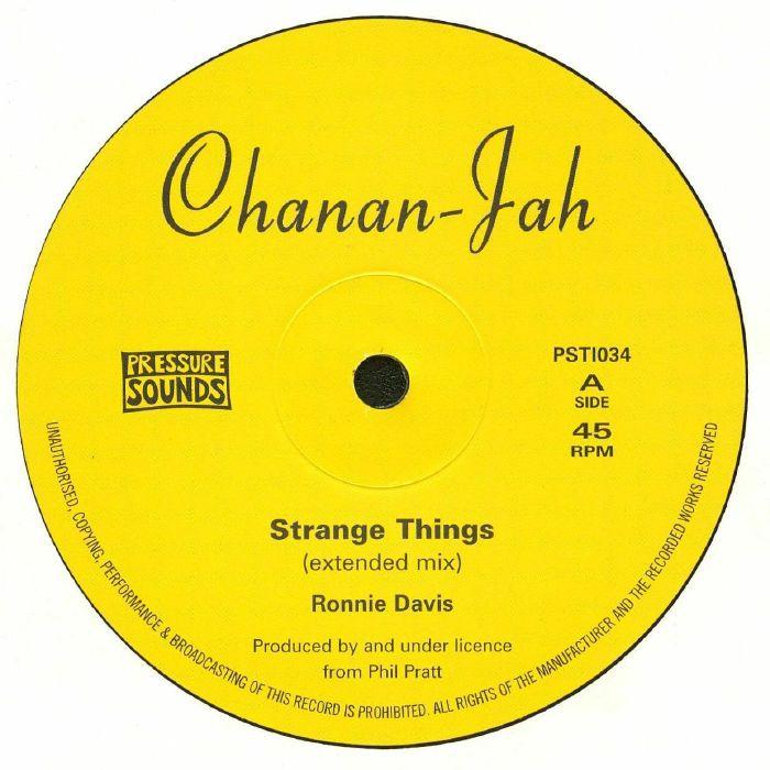 DAVIS, Ronnie - Strange Things