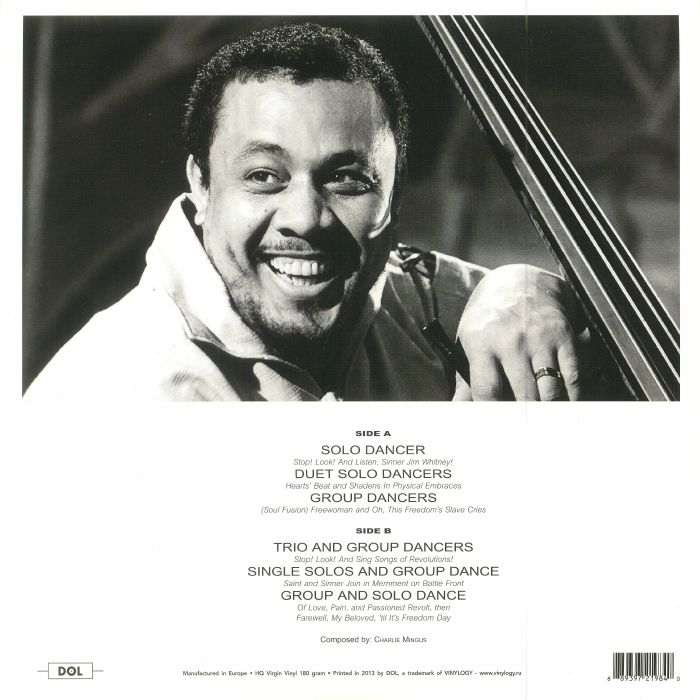 MINGUS, Charles - The Black Saint & The Sinner Lady (reissue)