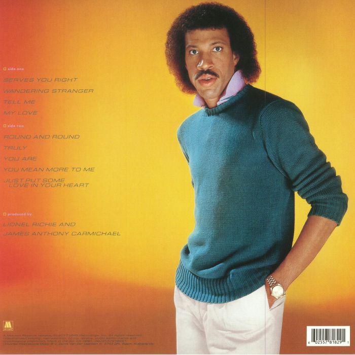RICHIE, Lionel - Lionel Richie (reissue)