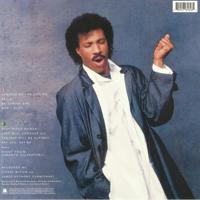 RICHIE, Lionel - Dancing On The Ceiling (reissue)