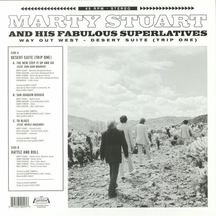 STUART, Marty & HIS FABULOUS SUPERLATIVES - Way Out West: Desert Suite (Trip One) (Record Store Day 2018)