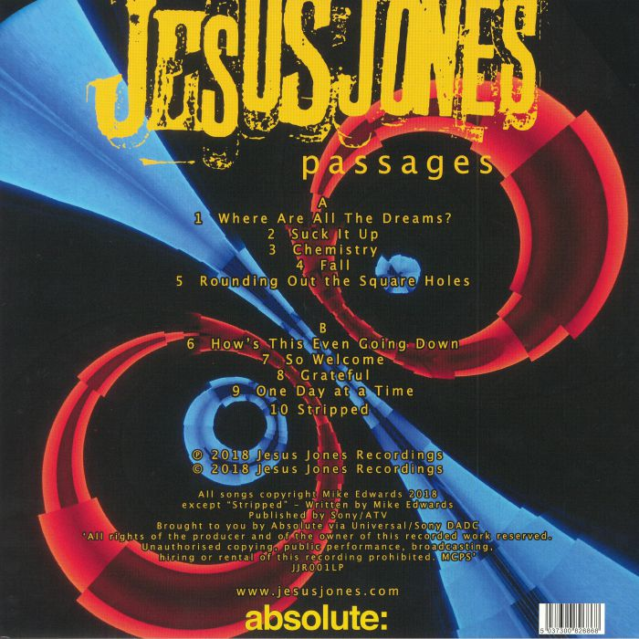 JESUS JONES - Passages