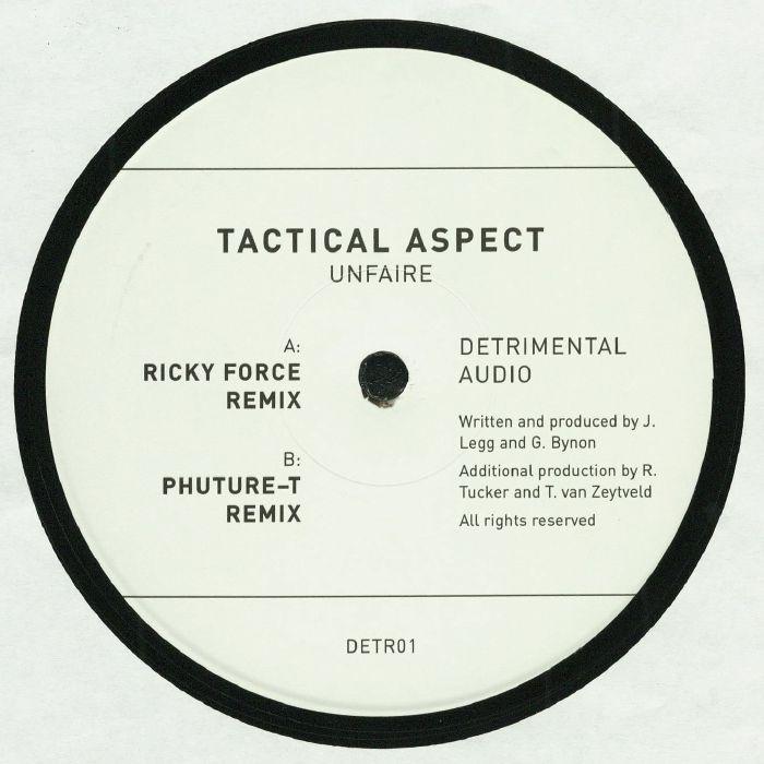 TACTICAL ASPECT - Unfaire (remixes)